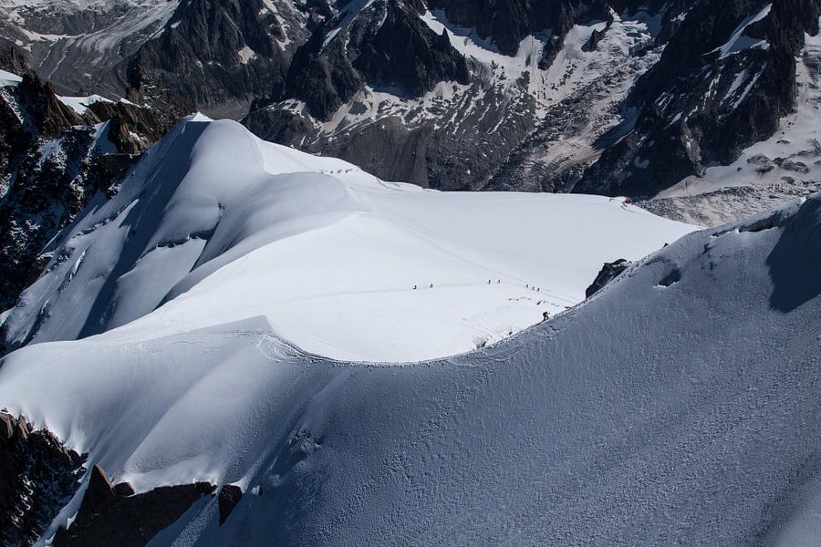 Mont Blanc beklimming