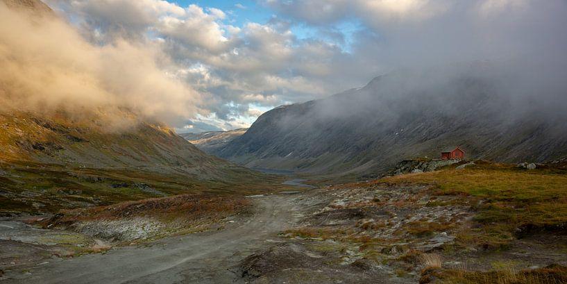 Geirangerfjord pass van Gilbert Schroevers