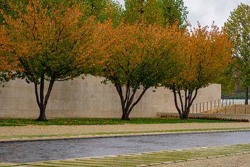 """Margraten Amerikaanse begraafplaats """"de namen"""". van Onno Alblas"""