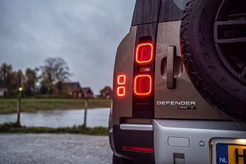 Land Rover Defender van Bas Fransen