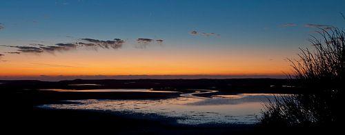 Texel sunset van