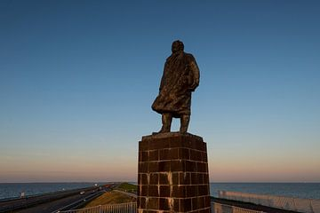Statue Lely Afsluitdijk sur Keesnan Dogger Fotografie