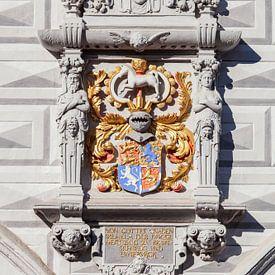 Wappen, Altes Rathaus,  Celle, Lüneburger Heide von Torsten Krüger