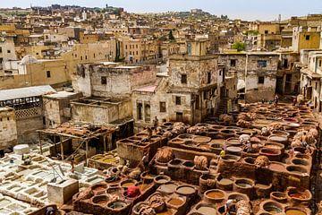 Leerlooierij in Fez