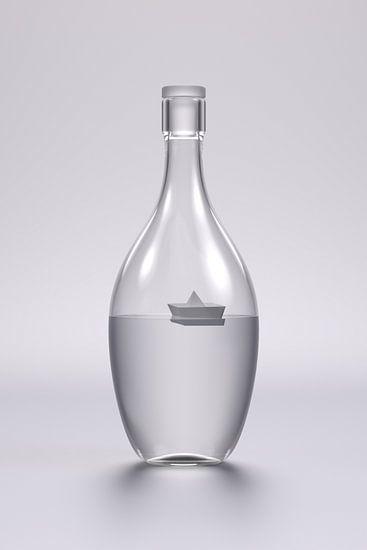 Ship in a Bottle van Jörg Hausmann