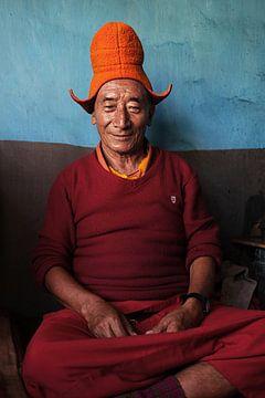 Tibetaans boeddhistische monnik van Affectfotografie