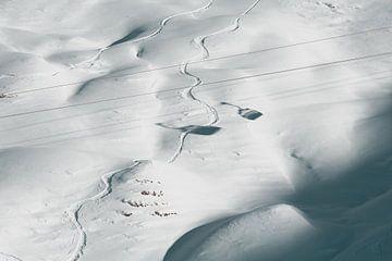 Lijnspotten vanuit de Skilift van Sophia Eerden