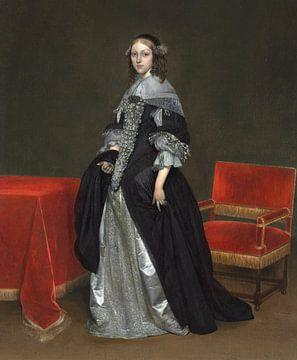 Porträt einer Frau, Gerard ter Borch