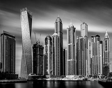 Dubai Yachthafen von Sjoerd Van der Pluijm