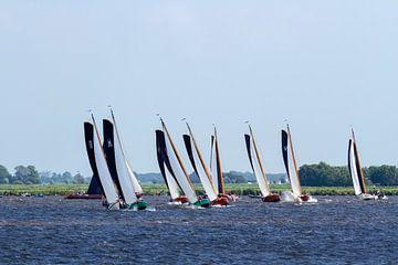 Skutsjesilen op het Heechermeer van