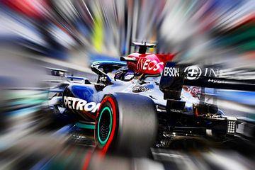 Lewis Hamilton 2021 van DeVerviers