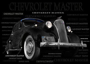 Chevrolet Master Coupe 1937 van aRi F. Huber