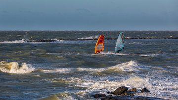 Windsurfen Nordsee von Bram van Broekhoven