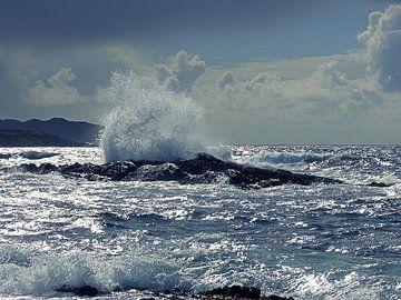 De ruige kust van Ierland sur