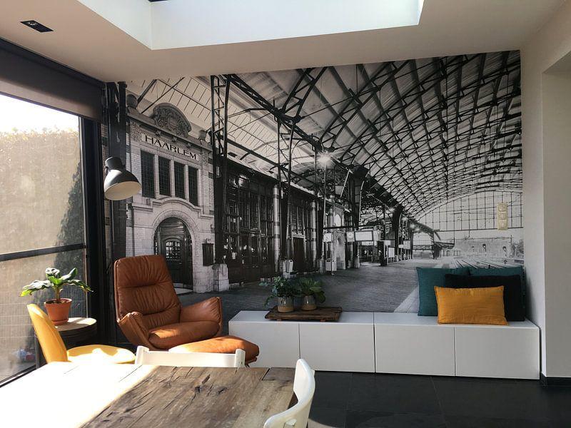 Klantfoto: Haarlem: Station perron 3 van Olaf Kramer