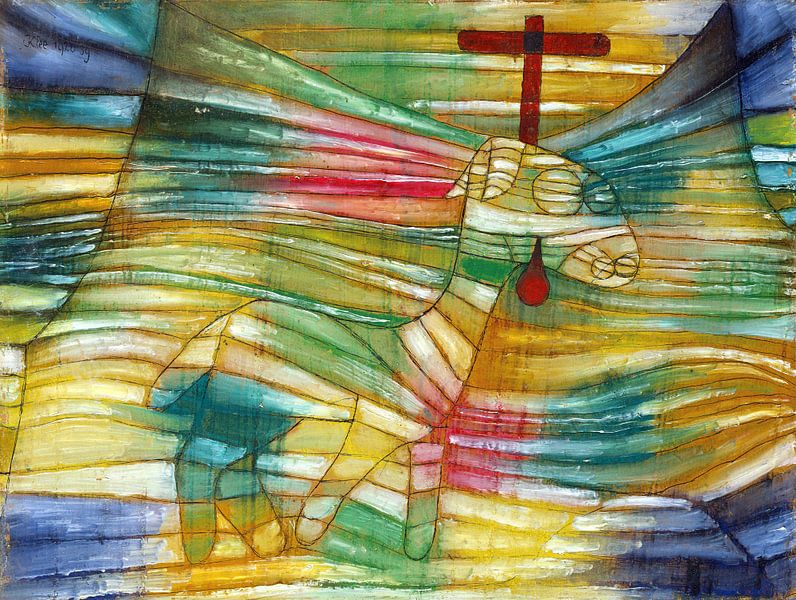 Paul Klee.Das Lamm von 1000 Schilderijen