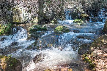 waterval in de natuur van andalusie in spanje van Compuinfoto .