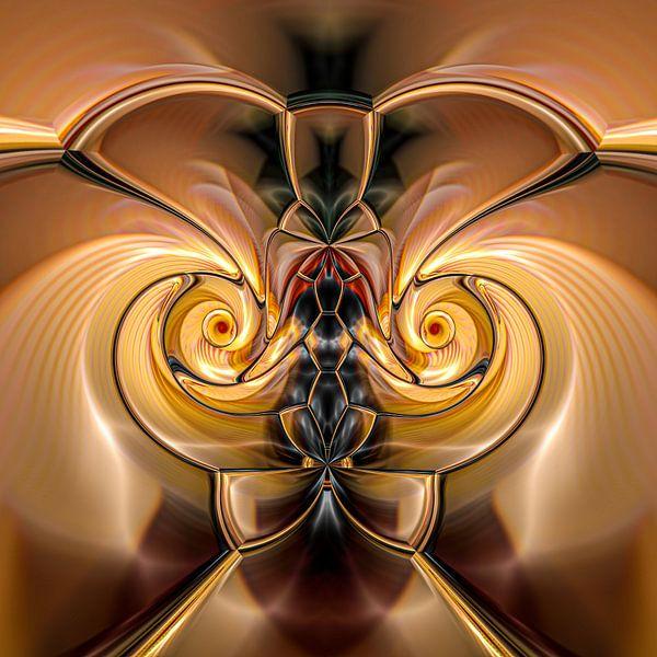 Phantasievolle abstrakte Twirl-Illustration 109/1 von PICTURES MAKE MOMENTS