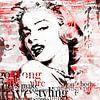 Marilyn Monroe Malerei Pop-Art-Kunstwerk von Kunst Company Miniaturansicht