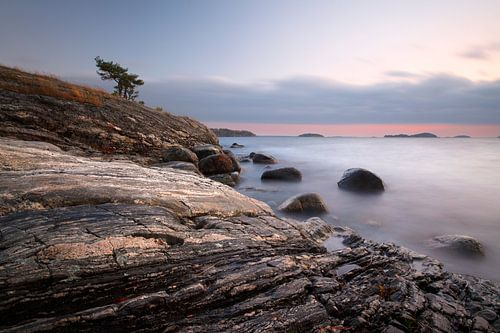 Swedish rocky coastlines