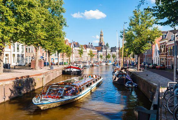 Hoge der A Groningen in de Zomer