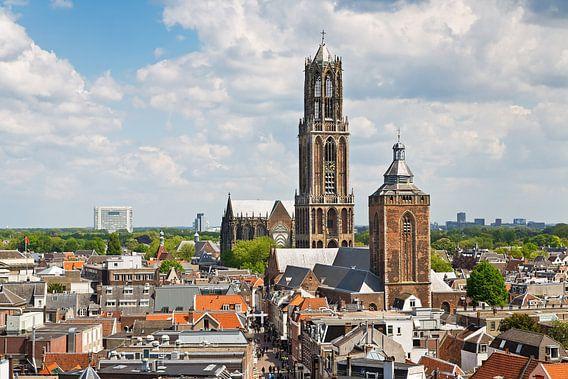 Domtoren en Buurtoren Utrecht van Anton de Zeeuw