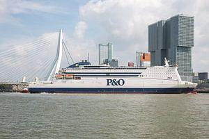 "P&O Ferries ""Pride of Rotterdam in Rotterdam"