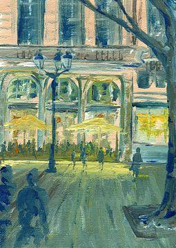 Pariser Cafe von sarah Loecker