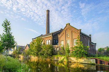 Langs de Maresingel Leiden van Dirk van Egmond