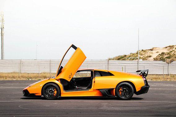 Lamborghini Murcielago SV klaar om te racen!
