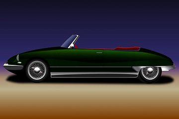 Oldtimer Citroen DS 19 Cabriolet von Mike's Motivfabrik