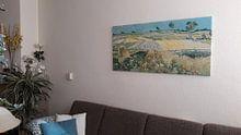 Kundenfoto: Die Ebene von Auvers, Vincent van Gogh, auf leinwand