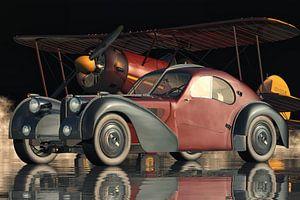 Bugatti 57-SC Atlantic - De meest legendarische van alle auto's