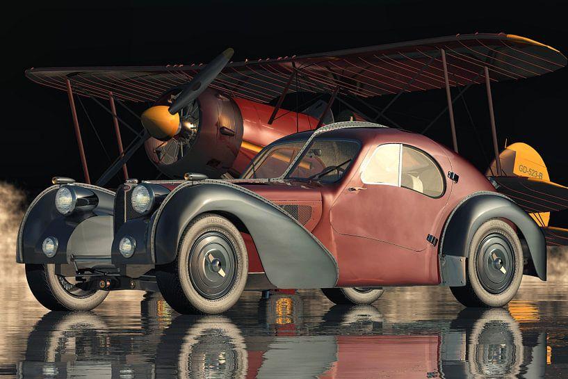 Bugatti 57-SC Atlantic - De meest legendarische van alle auto's van Jan Keteleer