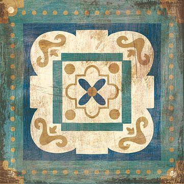 Marokkaanse tegels Blue XII, Cleonique Hilsaca