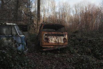 Alter Volkswagen Transporter von Maikel Brands