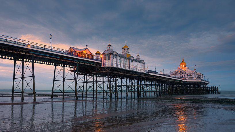 Eastbourne Pier, East Sussex, Engeland van Henk Meijer Photography