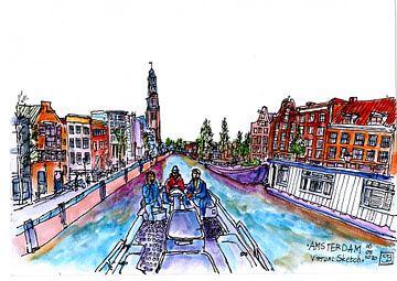Amsterdamer Grachten von Gerard Beekman