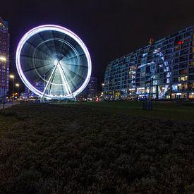 """Ferris wheel """"De Rotterdam editie"""" van Michel Kempers"""
