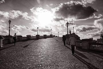 Brug in Antwerpen von Bob Bleeker