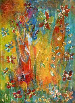 erwachte Blumen von Claudia Gründler