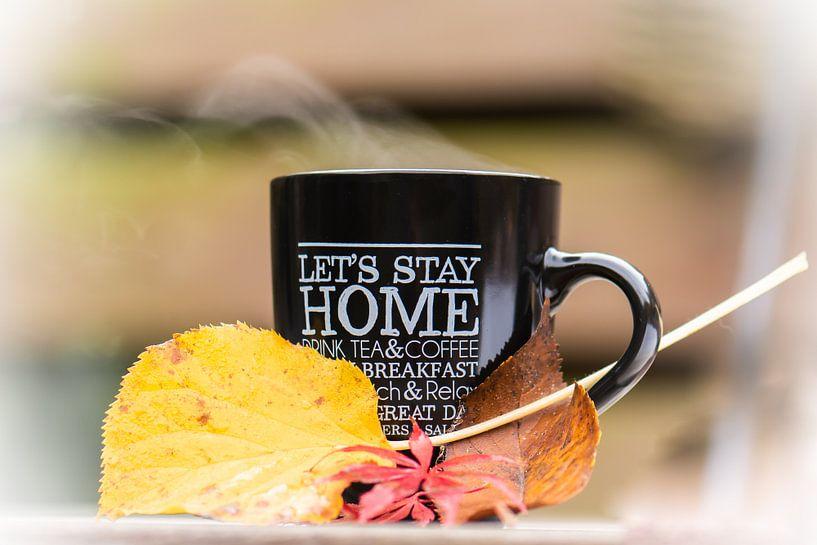 café chaud, automne froid sur Tania Perneel