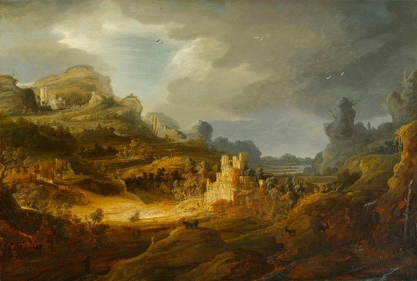 Fantastische Landschaft, Jan Lievens von Meesterlijcke Meesters