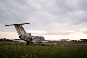 Verlaten Vliegtuig in Verval. van