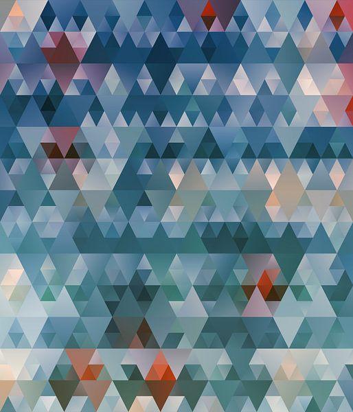 Composition abstraite 601 van Angel Estevez