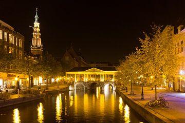 Leiden by Night van Hans Winterink