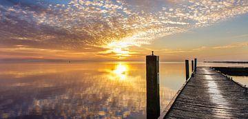 Sneekermeer, Zonsopkomst von Jaap Terpstra