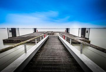Markermeer (IJsselmeer) - Lelystad van Theo Hannink