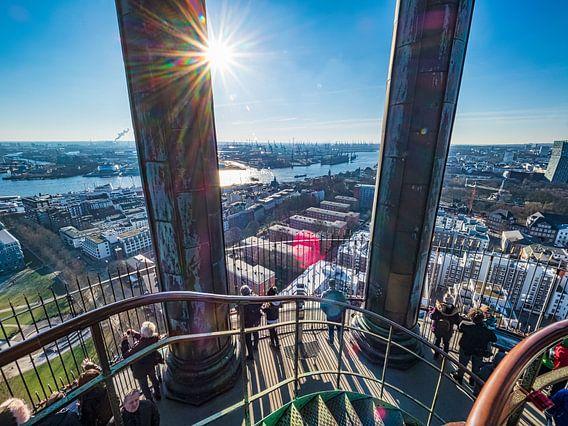 2018-02-14 Hamburg Panorama vom Michel