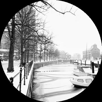 Achter de Grote Krek van Dordrecht van Dordrecht van Vroeger